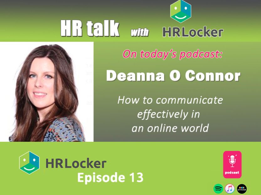 HR Locker podcast with Deanna O'Connor - Communicating Effectively in an Online World